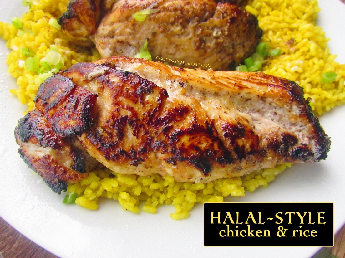 Halal Style Chicken and Rice | Cooking Is My Sport