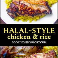 Halal Style Chicken and Rice