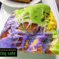 Pecan Praline Cream Cheese King Cake