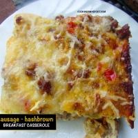 Sausage-Hashbrown Breakfast Casserole