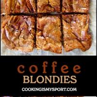 Coffee Blondies