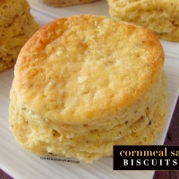 Cornmeal Sage Biscuits