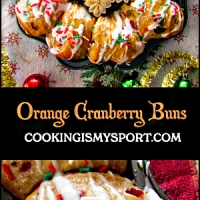 Orange Cranberry Buns