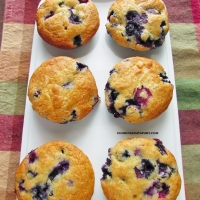 THE Blueberry Muffins